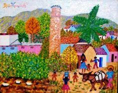 arte popular y artesanía de Venezuela: DIONICIO VERAMÉNDEZ - artista popular Arte Popular, Painting, Venezuela, Paintings, Artists, Painting Art