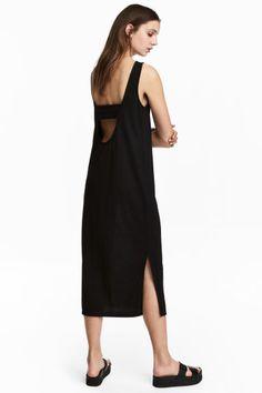 Трикотажное платье - Черный - Женщины | H&M RU