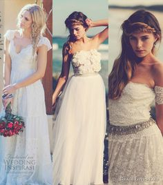 Our top 3 picks from Grace Love Lace Wedding Collection. The first dress is gorgeous.
