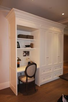 Home Office custom reach in closets Design Ideas, Pictures, Remodel and Decor