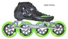 2014 Luigino Strut Black Skate