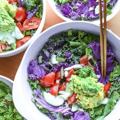 You know you've had a good salad when you think about it for days after hahah. Still lusting over these salads that @ellenfisher and myself whipped up the other day