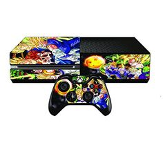 Dragon Ball Z Premium Designer Skin for Xbox One  2 Free Controller Skins -- Learn more by visiting the image link.Note:It is affiliate link to Amazon.