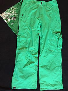 #Animal mens ski #snowboard pants salopettes trousers medium #green free face mas,  View more on the LINK: 	http://www.zeppy.io/product/gb/2/322149662482/