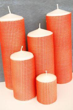 DIY Candles DIY Neon Textured Candles DIY Candles