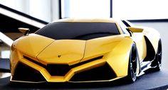 Concept Cars: Lamborghini Cnossus. #LuxuryCars #VintageCars #SportCars #ConceptCars