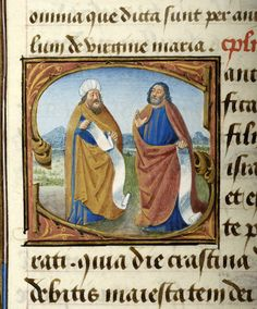 Pontifical matutinale and missal of Jean Coeur, G.49 fol. 18r - Images from Medieval and Renaissance Manuscripts - The Morgan Library & Museum