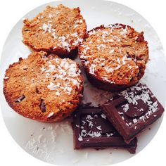 Paleo kókuszos-csokis muffin
