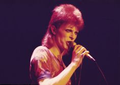 David Bowie performing as Ziggy Stardust in 1973 | CHRIS WALTER VIA GETTY IMAGES | Legendary Singer David Bowie Dies At 69