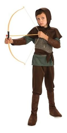 Deluxe Robin Hood Costume (ages 4 to 10)