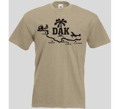 T-Shirt DAK44 / mehr Infos auf: www.Guntia-Militaria-Shop.de