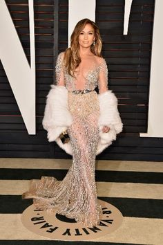 Everyone Got Naked This Awards Season & We Liked It | Jennifer Lopez in Zuhair Murad Couture