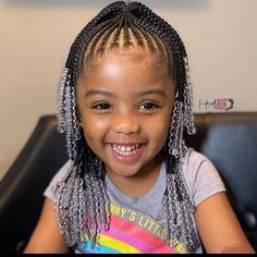 Little Girls Natural Hairstyles, Toddler Braided Hairstyles, Little Girl Braid Hairstyles, Cute Hairstyles For Kids, Baby Girl Hairstyles, Children Braided Hairstyles, Little Black Girls Braids, Little Girl Braid Styles, Kid Braid Styles