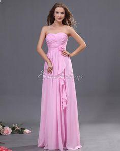 Enges Chiffon natürliche Taile Brautjungfernkleid/ Festliche Kleid