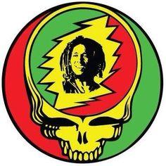 Bob Marley Stealie