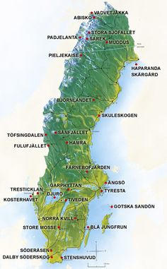 National Parks in Sweden - Naturvårdsverket #sweden #parks #outdoors
