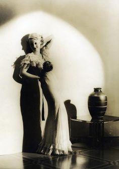 Bette Davis, 1920s.