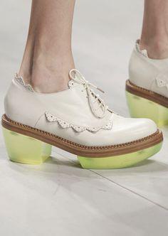 Shoes atSimone Rocha Spring 2013