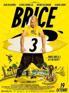 Après 3 teasers dans lesquels Jean Dujardin pratiquait sans vergogne son art du cassage, voici que débarque une bande-annonce de Brice 3, suite des aventures de notre surfeur casseur préféré.