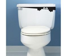WC tartály matrica