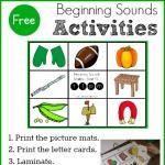 FREE Beginning Sounds Activity for Preschool & Kindergarten!