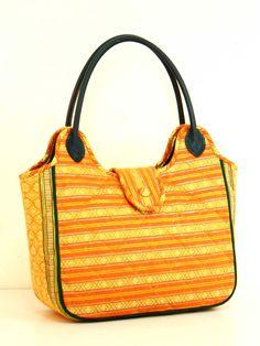 Welcome to Thai Luxury Handmade Unique Silk Fabric Tote Bags Tote Bags Handmade, Handmade Handbags, Orange Handbag, Fabric Tote Bags, Bags 2017, Gold Handbags, Silk Fabric, Dust Bag, Fashion Photography