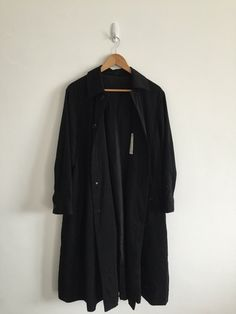 A personal favourite from my Etsy shop https://www.etsy.com/listing/473690047/yohji-yamamoto-black-imper-meable-size