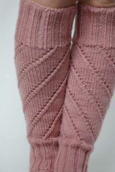 Spiral Leg Warmers Pattern