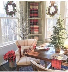 Christmas house decorations are one of the fun parts of Christmas, in which kids as well as adults want to […] Christmas Time Is Here, Merry Little Christmas, Noel Christmas, Country Christmas, All Things Christmas, Christmas Kitchen, Cabin Christmas, Simple Christmas, Vintage Christmas