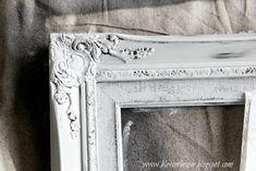 4 Thrifted Frames, 1 Easy Distress Technique - Bless'er House