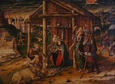 Adoration of the Shepherds, 1480 - Carlo Crivelli