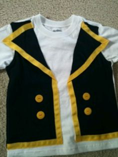 Jake pirate diy shirt. Maybe just add Jeans? Boots ? Bandana? :)