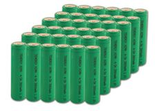 Image of Combo: 36pcs Tenergy 4/3A 17670 3800mAh NiMH Rechargeable Batteries