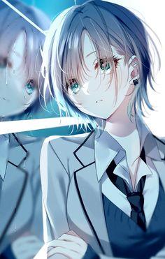 Sad Anime Girl, Pretty Anime Girl, Anime Child, Anime Art Girl, Moe Anime, Anime Eyes, Girl Wallpaper, Kawaii Girl, Aesthetic Anime