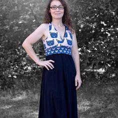 Cross Front Brazi (Bra or Dress) (Nursing addon - hack for regular brazi on facebook, Maternity friendly)