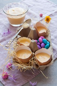 #Easter custard in egg shells  Photographer Nadine Greeff Flavour | Food Stories