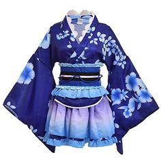Japan Yukata Kimono Kostüm Cosplay Set | Lolita Sakura Cosplay Outfit | #cosplay #kostüm #cosplaygirl | *werbung