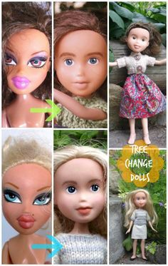 """From Bratz to natural beauties! Find out more about """"Tree Change"""" dolls by Sonia Singh."""