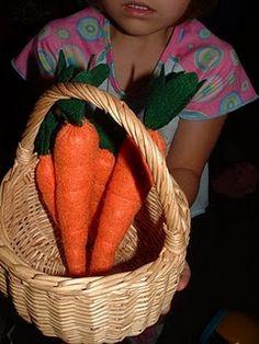 Carrots - Felt Food Cook-Along