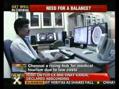 An ailing Union Minister Vilasrao Deshmukh chose Chennai as the place for a likely liver transplant. Above any other place in India or even rushing abroad as most politicians do. Renewing focus on the city's corporate health centres attracting patients from around the world. It's call medical tourism and the big money it means also raises certain ethical questions.