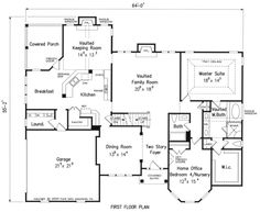 Greenlaw - Home Plans and House Plans by Frank Betz Associates