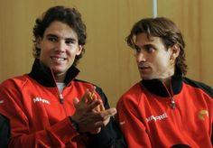 Rafael Nadal talks about playing David Ferrer in London