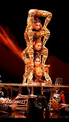 """Iris"" Cirque du Soleil"
