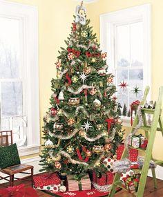 modern christmas tree decoration - Buscar con Google