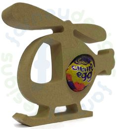 pack of 2 Unicorn Freestanding MDF Kinder Egg Holder Easter Gift Blank Shape