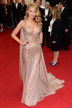 Blake Lively attends the Charles James: Beyond Fashion Costume Institute Gala on May 5, 2014, in New York City. Getty Images -Cosmopolitan.com