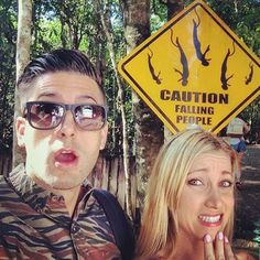 Jesse and Jeana Went bungee jumping for the first time in Australia. im so jelly. Jesse And Jeana, Mean Boyfriend, Bf Vs Gf, Time In Australia, Forever Life, British Youtubers, Joe Sugg, Old Video, Family Humor