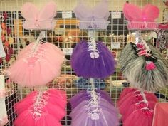 TuTu much? Great way to display many tutu skirts without looking crowded or unmanagable