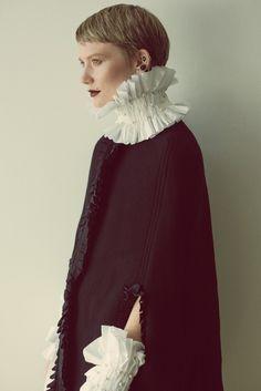 Mia Wasikowska by Carlos Serrao for Flaunt Magazine 2015