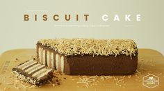 노오븐!코코넛 초콜릿 비스킷 케이크 만들기:How to make Coconut chocolate biscuit cake:ココナッツ...